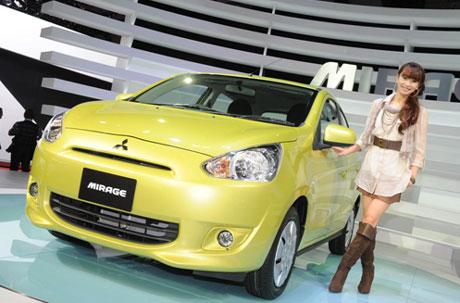 Бюджетные городские автомобили Mitsubishi