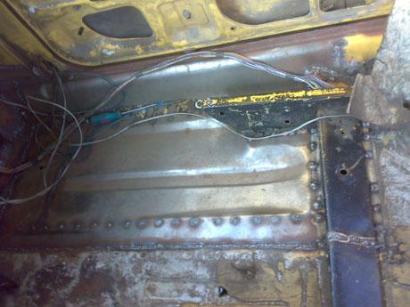 ремонт днища ваз-2109 своими руками