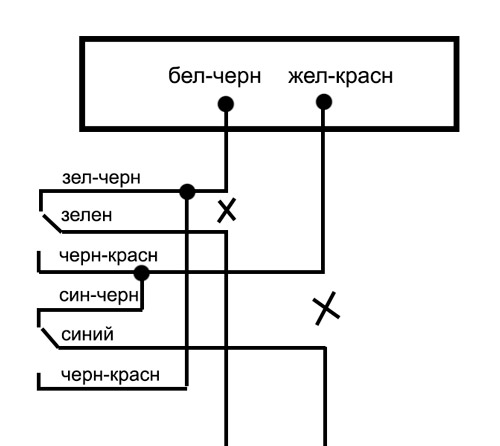 Схема подключения центрального замка Хонда